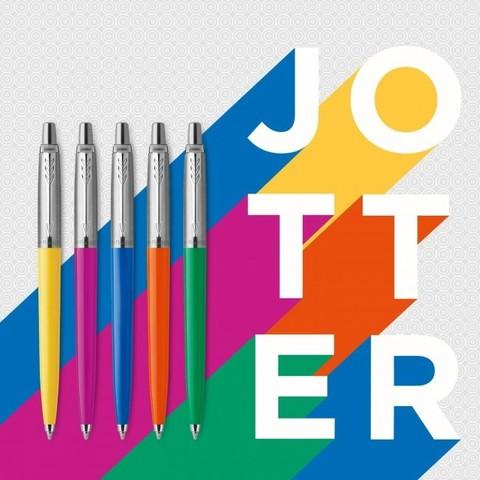 Шариковая ручка Parker Jotter ORIGINALS MAGENTA, стержень: Mblue123