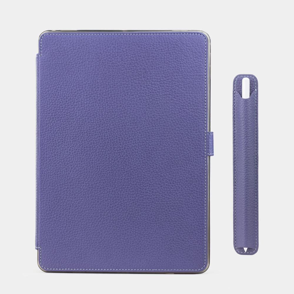 Чехол для ручки Stylus Easy из натуральной кожи теленка, цвета сирени