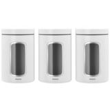 Набор контейнеров 3 пр.(1,4л), Белый, артикул 306068, производитель - Brabantia