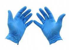 Перчатки нитриловые Wally Plastic L (100шт)