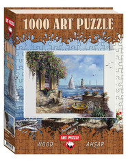 Puzzle IT WAS HERE (Wooden) 1000 pcs