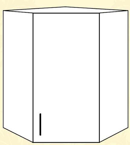 ШВУ 550 Шкаф верхний угловой