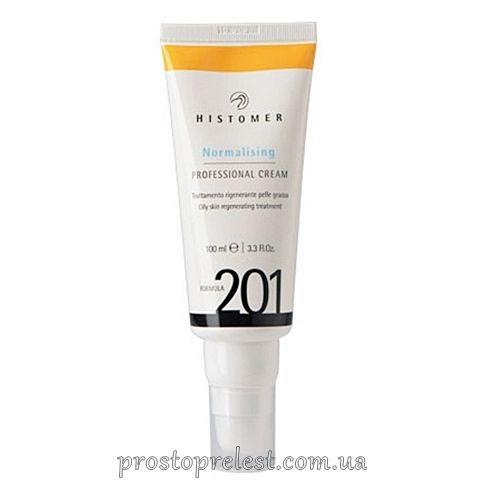 Histomer Formula 201 Normalising Professional Cream SPF 12 - Професійний фінішний нормалізуючий крем для жирної шкіри SPF 12