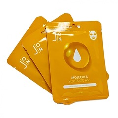 Тканевая маска для лица ВУЛКАНИЧЕСКИЙ ПЕПЕЛ J:ON Molecula Vulcanic Daily Essence Mask, 23 ml