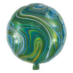 Воздушный шар Круг - Агат (Зеленый)