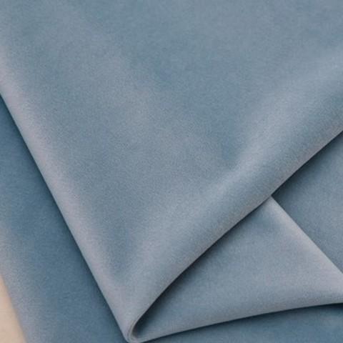 Бархат матовый стрейч, ворс 0,5 мм., серо-голубой (выбрать  размер)