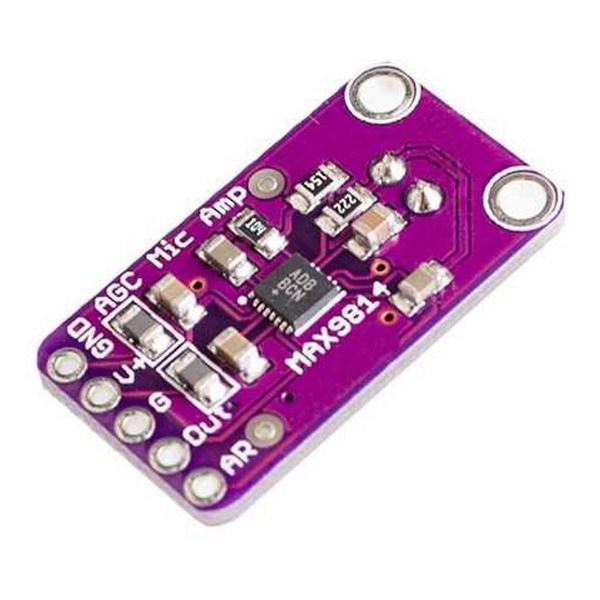 Модуль микрофонного усилителя MAX9814 с АРУ