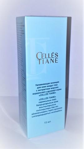 Увлажняющая эссенция для кожи вокруг глаз с экстрактами морских водорослей и дрожжей CELLES TIANE