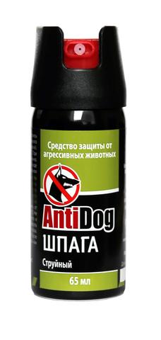 Распылитель баллончик AntiDog Шпага, 65 мл