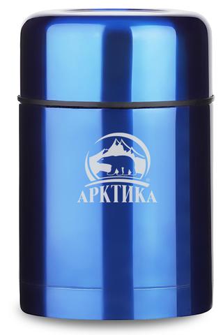 Картинка термос для еды Арктика 302-750 синий - 1
