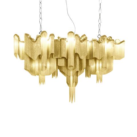 Подвесной светильник копия  Stream by Terzani Long (золотой)
