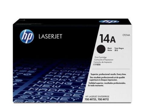 Оригинальный картридж HP CF214A (№14A), чёрный