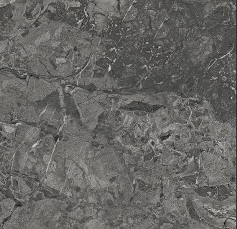 Brecia Adonis Dark Керамогранит темно-серый 60x60 полированный
