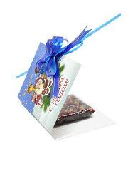 Шоколад на финиковом пекмезе с фисташками и клубникой,