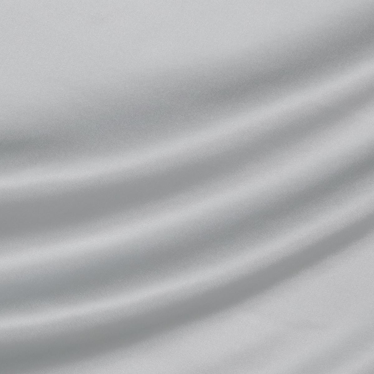 Светло-серый атласный шелк