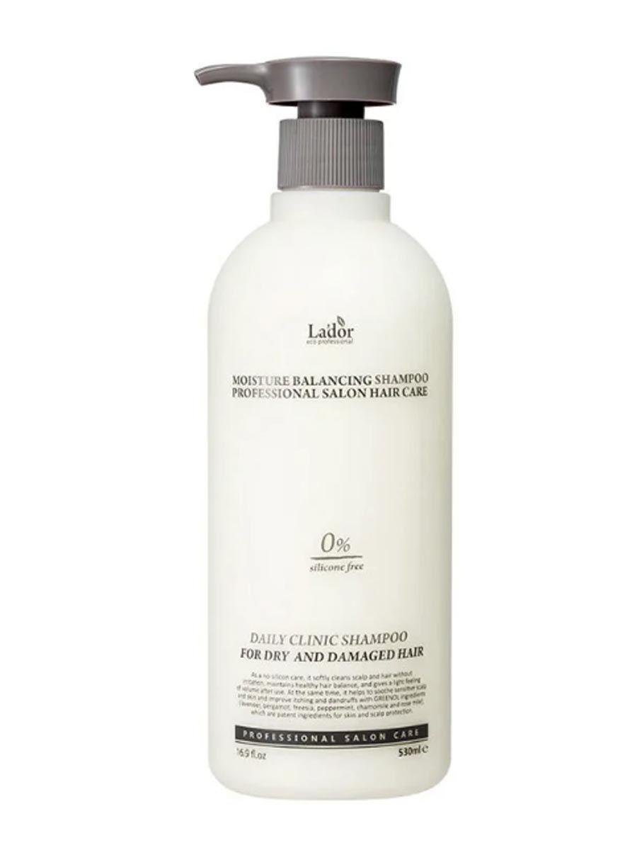 Шампунь для волос Шампунь для волос увлажняющий LA'DOR Moisture Balancing Shampoo 530 мл 13991015-1.jpg