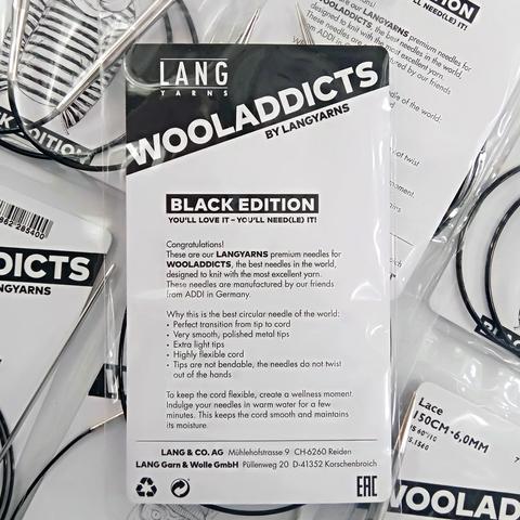 Спицы круговые Lang Yarns супергладкие WOOLADDICTS Lace 80 см