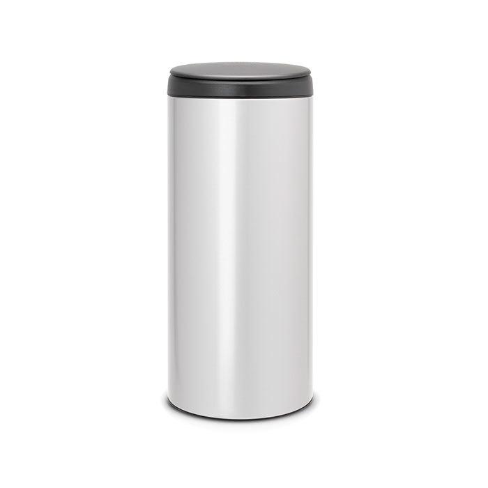 Мусорный бак Flip Bin (30 л), Стальной полированный, арт. 112300 - фото 1