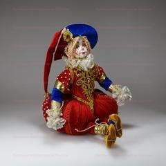 Интерьерная кукла Большой клоун