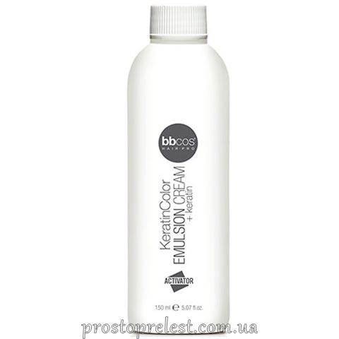BBcos Keratin Color Emulsion Cream - Крем-емульсія