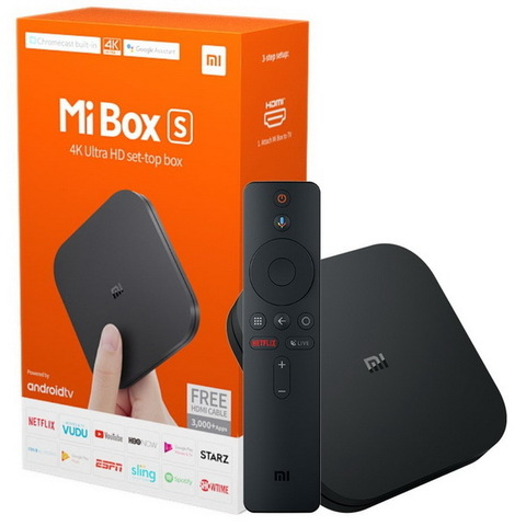 Xiaomi Mi Box S 2/8 Black (EU)