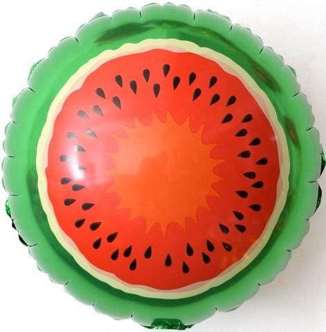 Фольгированный шар Арбуз