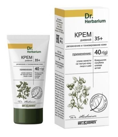 BelKosmex Dr.Herbarium Крем дневной 35+ увлажнение и тонизирование кожи 40г