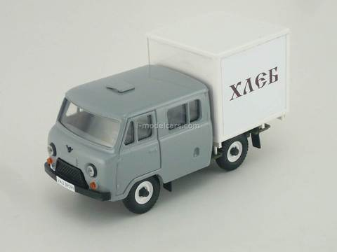 UAZ-39094 Farmer Van Bread gray metal Agat Mossar Tantal 1:43