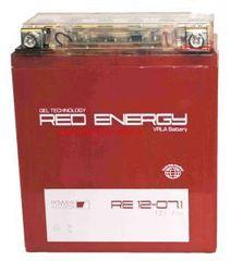 Аккумулятор 12V 7Ah (RE1207.1) RED ENERGY с индикатором заряда