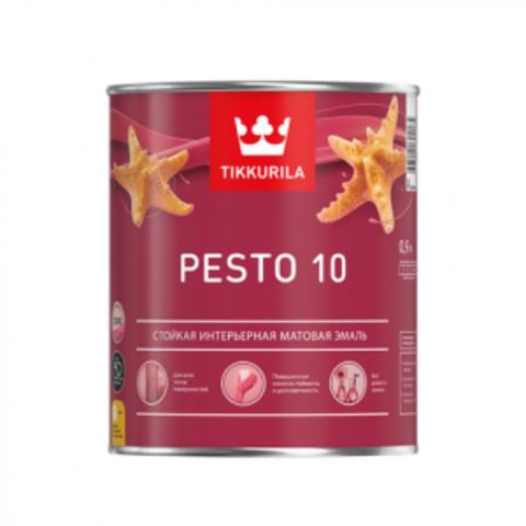 Tikkurila Euro Pesto 10 / Тиккурила Песто 10 эмаль алкидная для внутренних работ матовая