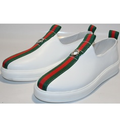 Туфли кроссовки New Malange M970 white.