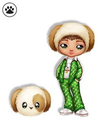 Кукла Na! Na! Na! Surprise Michael Manchester щенок (лапка) 2 серия