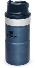Термостакан Stanley Classic Trigger Action 0,25L One hand 2.0 Синяя