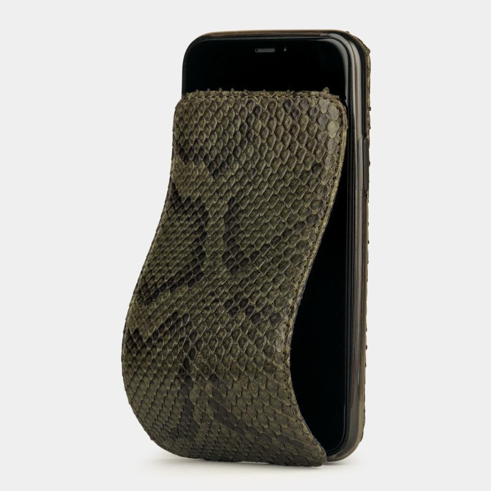 case iphone 11 pro - python green