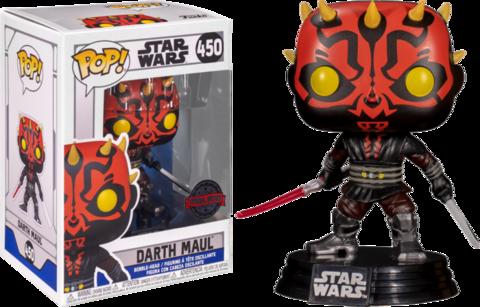 Фигурка Funko Pop! Star Wars: The Clone Wars - Darth Maul (Excl. to Chalice Collectibles)