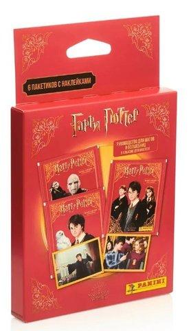 Бустер с наклейками Гарри Поттер. Руководство для магов и волшебниц (6 пакетиков)