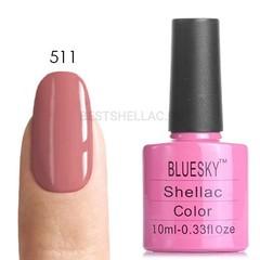 Гель-лак Bluesky № 40511/80511 Rose Bud, 10 мл
