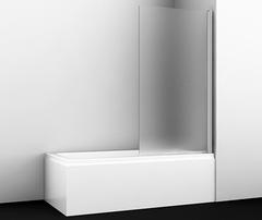 Шторка для ванны WasserKRAFT Berkel 48P01-80R Matt glass распашная, матовое стекло