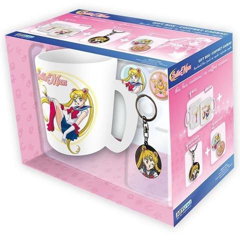 Набор ABYstyle: SAILOR MOON: Кружка + Брелок + Значки Sailor Moon