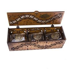 Коллекционный сувенирный набор стаканов «Герб СССР», 3 шт, фото 7