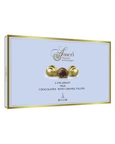 Конфеты Ameri из Молочного Шоколада с Карамельной Начинкой 165гр