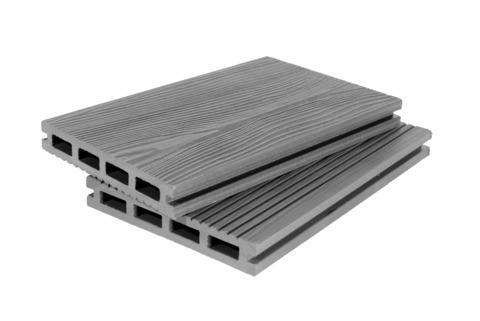 Террасная доска 140мм 3D Серый