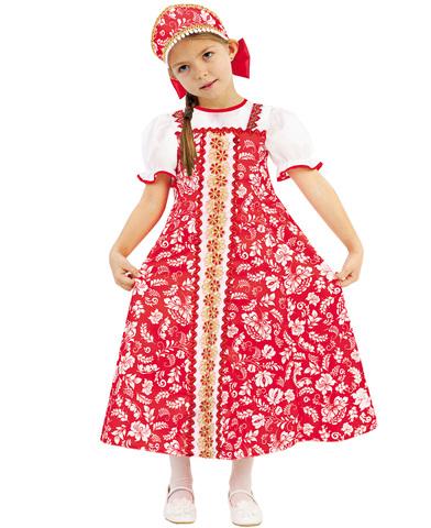 Карнавальный костюм детский Аленка