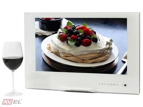 Встраиваемый телевизор AVEL AVS220W (белая рамка)