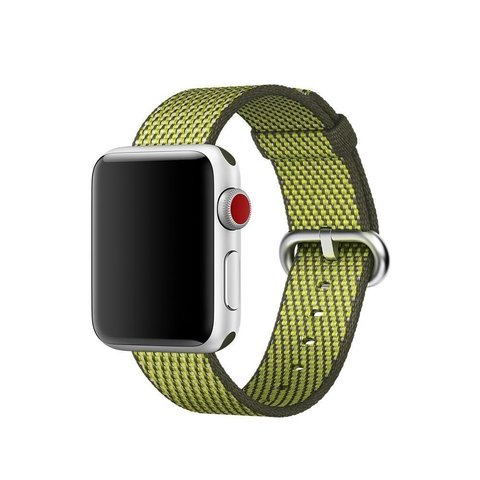 Watch S3 Cellular 42mm Space Grey Al/Olive Sport Loop