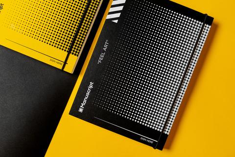 Скетчбук Manuscript Off-black Dot Plus – A5 В точку