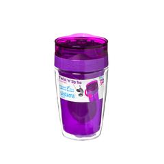 Термокружка для чая Sistema 370 мл, цвет Фиолетовый