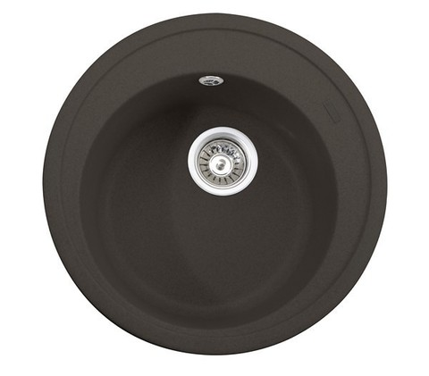 Кухонная гранитная мойка Kaiser KGM-510-DB темно-коричневый