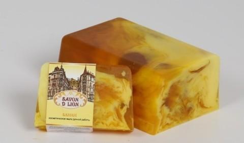 Косметическое мыло Банан 100 гр. ТМ SAVON D LION