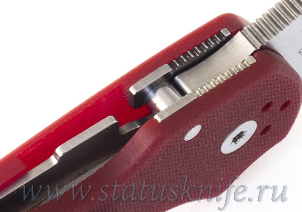Нож Spyderco Paramilitary 3 C223GPRD M390 Red - фотография